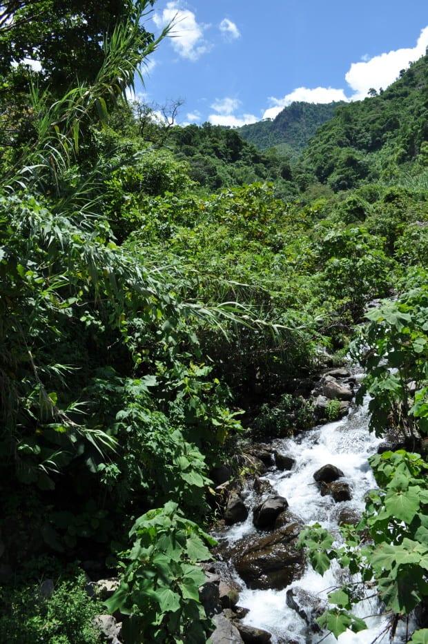 La Cascada (the waterfall) n Tzununa.