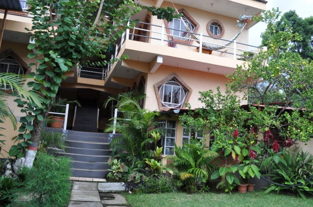 """We stayed in this lovely hotel in San Pedro, Guatemala for less than half of their advertised price by negotiating a """"long-term"""" (two week) rate in person."""